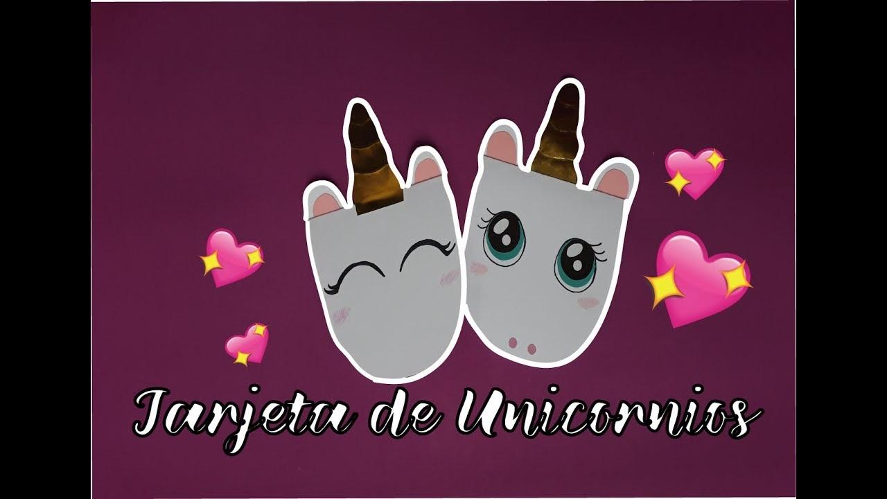 ¿De qué se va a tratar mi canal? ♥TARJETA DE UNICORNIO♥ ¡Invitación de Unicornio! ¿