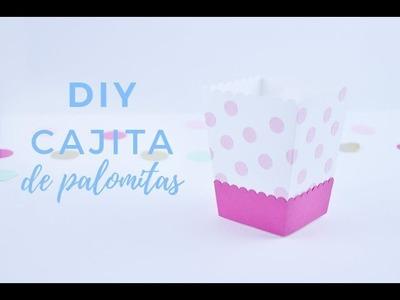DIY Cajita de palomitas | Como decorar una mesa dulce parte 2 | Bluca