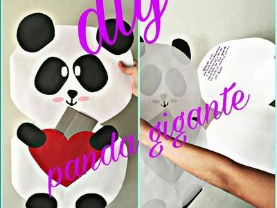 ♡Diy tarjeta de panda gigante ♡ MARIANA RODRIGUEZ