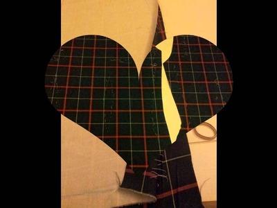 """Empieza a coser DIY: Como hacer un vestido tipo """"el tiempo entre costuras"""""""