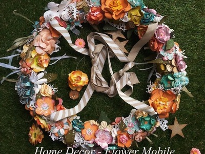 Home Decor - Flower Mobile by Lady Bloom