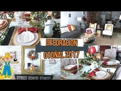 Ideas de  decoracion de otoño   faciles y sensillas 2017 ! MI DECORACION DE OTONO 2017