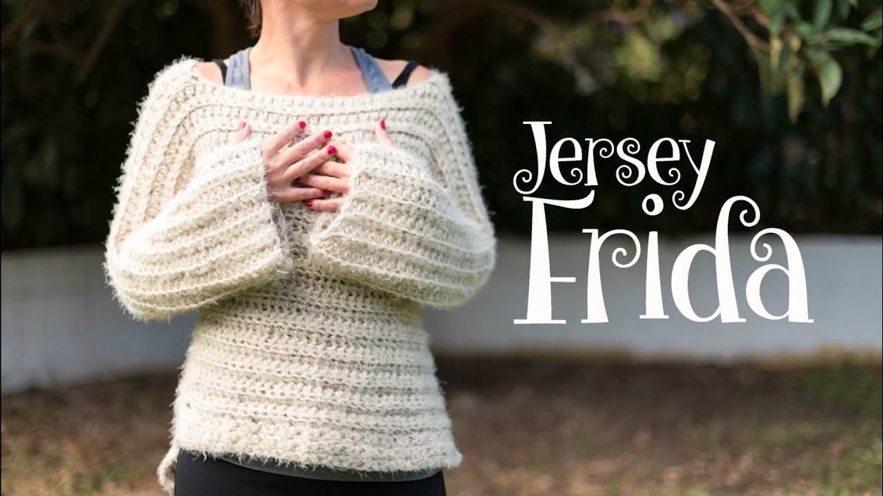 Jersey Frida a crochet