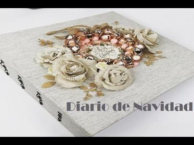 SCRAPBOOKING DIARIO DE NAVIDAD