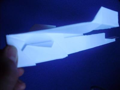 Sorprende A Tus amigos! Con este avión de papel llamado: el águila planeadora