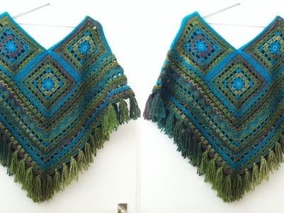 Teje Ponchos _ Tejidos a Crochet