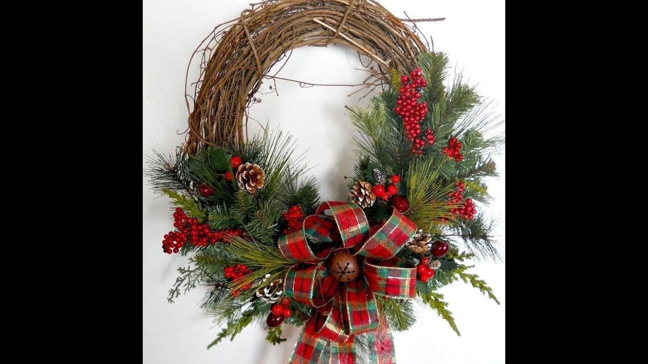 Tendencia de decoración navideña para este fin de año Estilo Rústico ❄ Ideas de decoración navideña❄