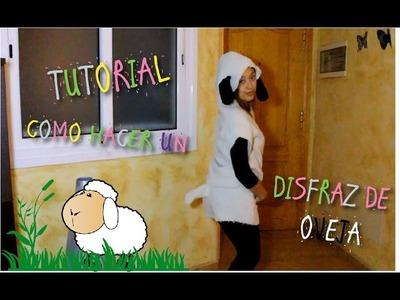 TUTORIAL - como hacer un disfraz de oveja | BHAPPY SHARING