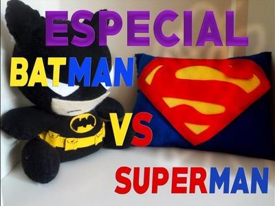Tutorial | Como hacer un cojincito de superman