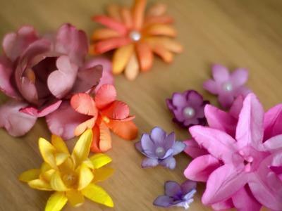 Tutorial Flores de papel super reales y faciles! Dulce Manzana
