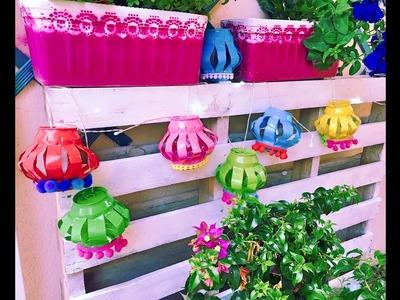 Una idea genial para decorar fácil, bonita y barata.