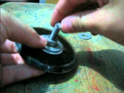 BeyBlade Casero tutorial de como construirlo paso a paso.