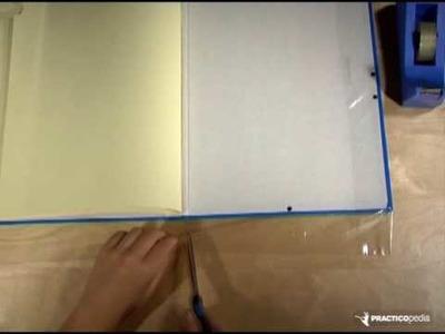 Cómo forrar una carpeta