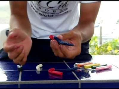 Como hacer:el hombre araña.how to make: the spiderman playdooh