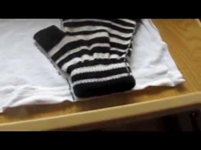 Cómo hacer guantes :D