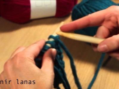 ¿Cómo hacer punto? 7. Unir lanas