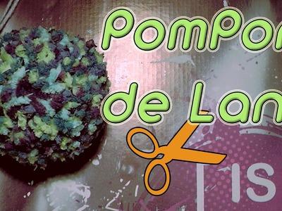 Como hacer un pompon