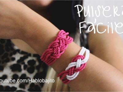 Ideas para hacer pulseras con cordón. Accesorios de Moda - Hablobajito