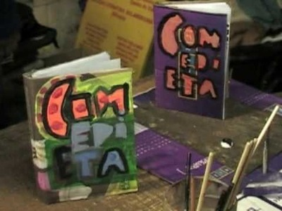 Libros de cartón pintado, cómo se trabaja en Eloísa Cartoner