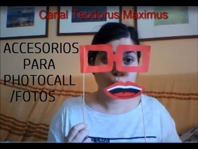 Manualidades para Fiestas Fotos Photocall fáciles y baratas