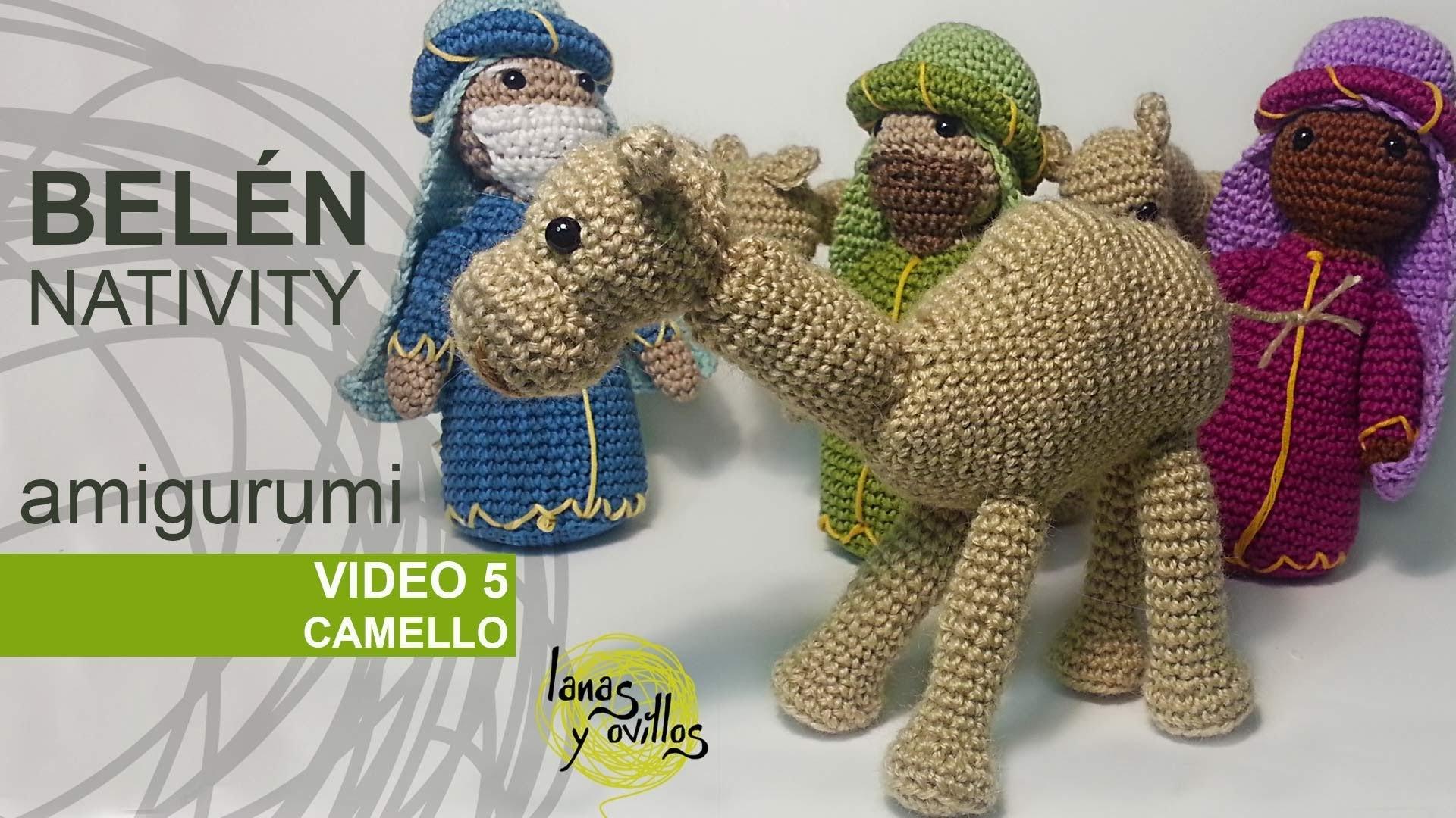Tutorial Belén Amigurumi Part 5: Camellos (Nativity English subtitles)