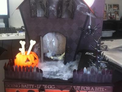 Tutorial Encuadernacion Álbum Halloween Parte 2