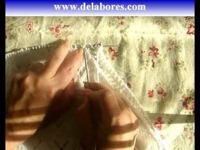 64. Calados para la toquilla de bebe (2)