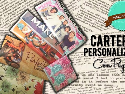 Cartera Personalizada (Súper Fácil) + 1er SORTEO INTERNACIONAL