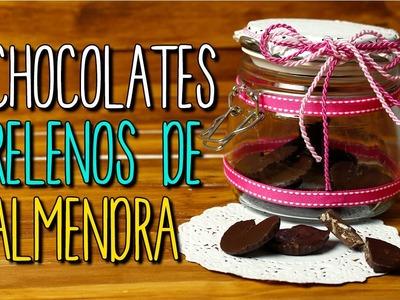 Chocolates rellenos para regalar - Receta Fácil - Paso a Paso