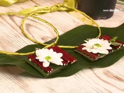 Cómo hacer collares vegetales en Ideas decorativas con Lilla Moreno