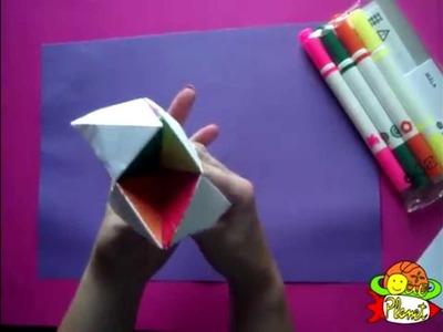 Como hacer un comecocos