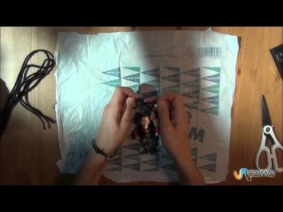 Cómo hacer un paracaídas sencillo
