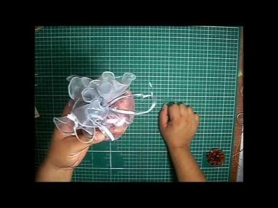 Como hacer un Sachet aromatico