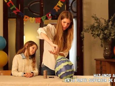 Cómo preparar una piñata - Manualidades Alimenta Sonrisas