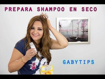 Como se hace un Shampoo en Seco .  prepara el tuyo