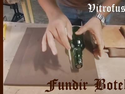 Curso de Cerámica - Doblar o Fundir una Botella Fusing - Vitrofusion