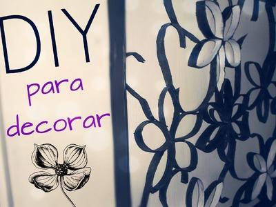 DIY Reciclaje - Cuadro de Decoración, MUY FACIL Y BONITO @yanibrilz #mArtesanias