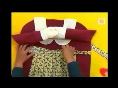 Forros para silla de navidad MAMA NOEL PARTE 2