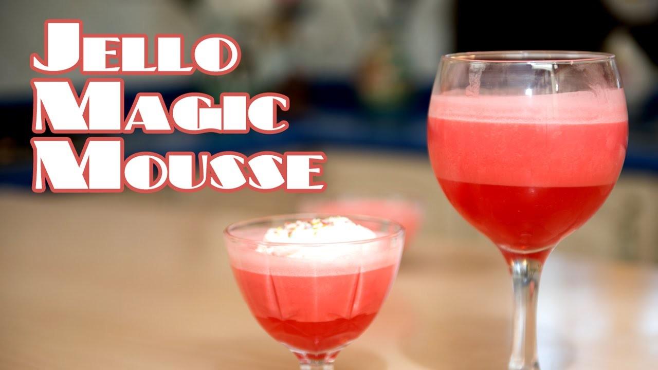 Jello Magic Mousse