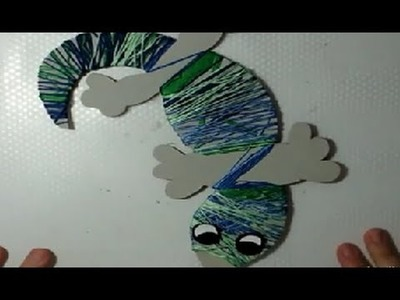 Manualidades con niños: lagartija de cartón DIY | facilisimo.com