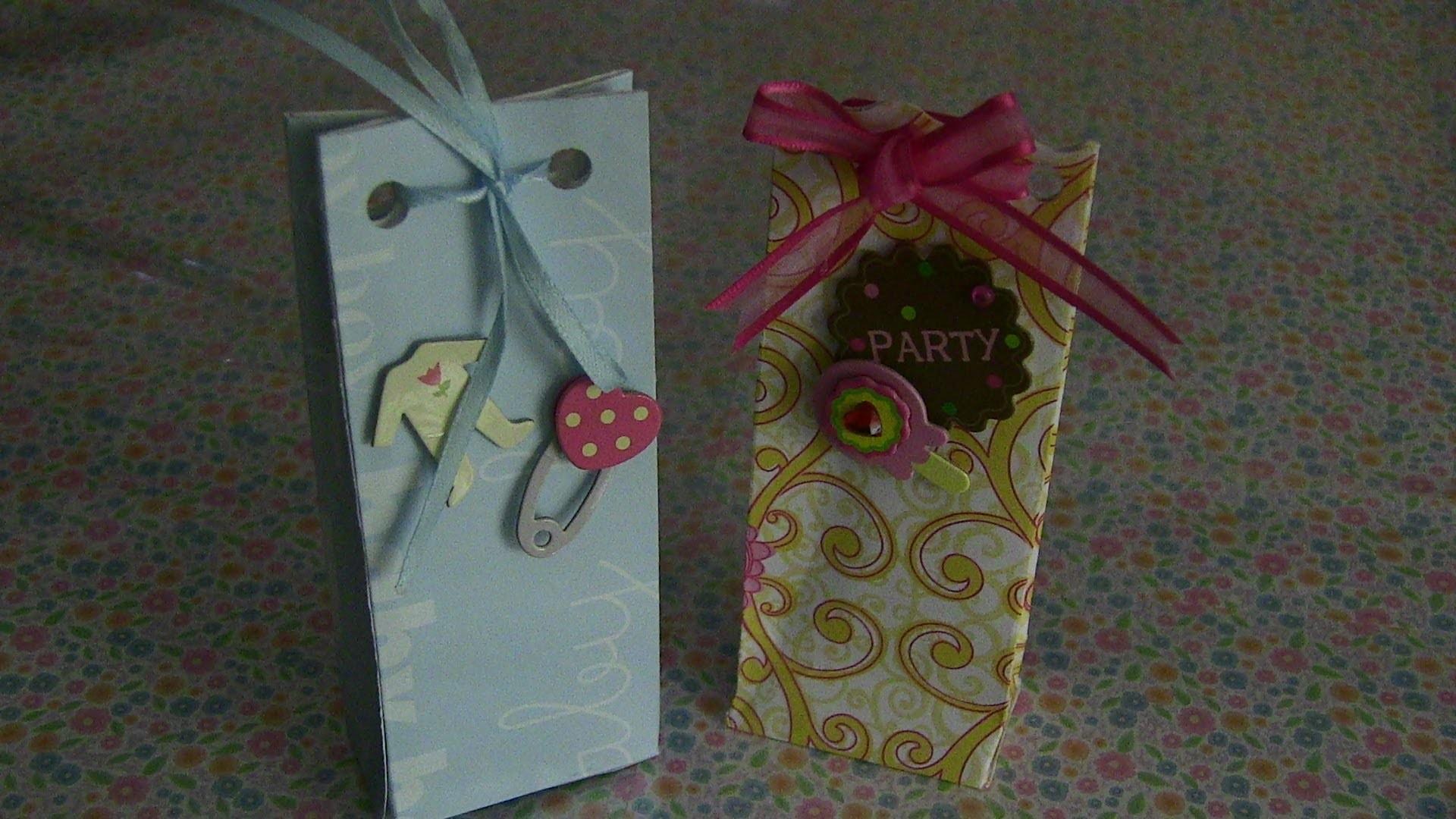 Mini Bolsitas para regalo o recuerdos de fiestas