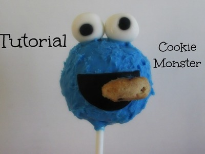 Paleta de Pastel **COOKIE MOSTER**(Cake Pop) Tutorial - Madelin's Cakes