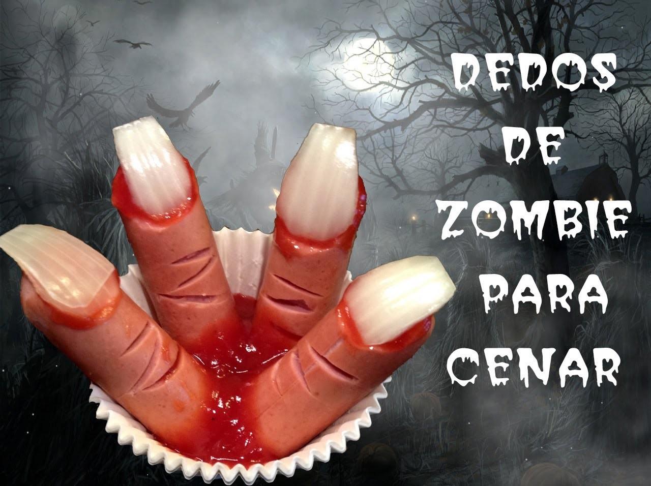 Recetas para Halloween: Cómo hacer dedos de zombie.