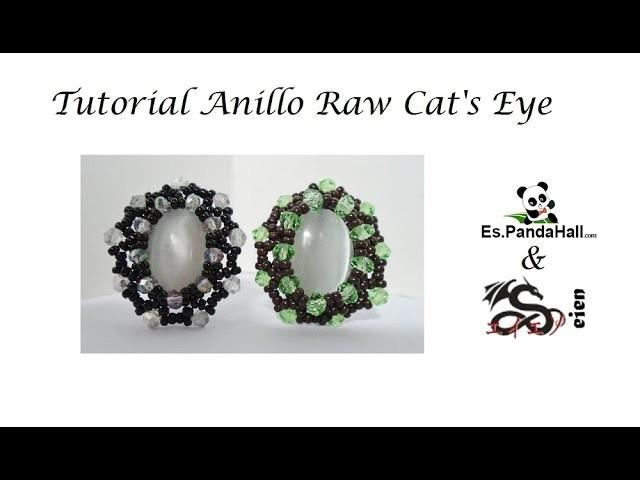 Tutorial Anillo Raw Cat's Eye Es.PandaHall.com