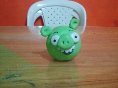 Tutorial de porcelanicron # 5 Bad Piggie