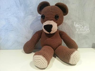 Tutorial Oso Teddy Bear Amigurumi Paso a Paso en Español (1 de 2)