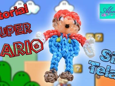 ♥ Tutorial: Super Mario de gomitas (sin telar) ♥