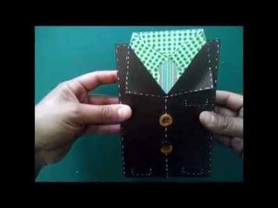Caja tarjeta dia del padre SCRAP  by mary scrapera slp