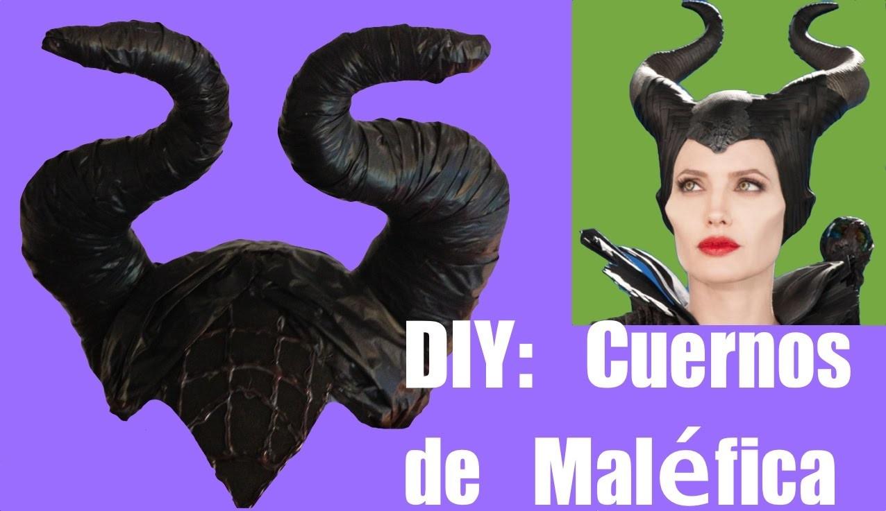 Cómo hacer los cuernos del disfraz de Maléfica. DIY