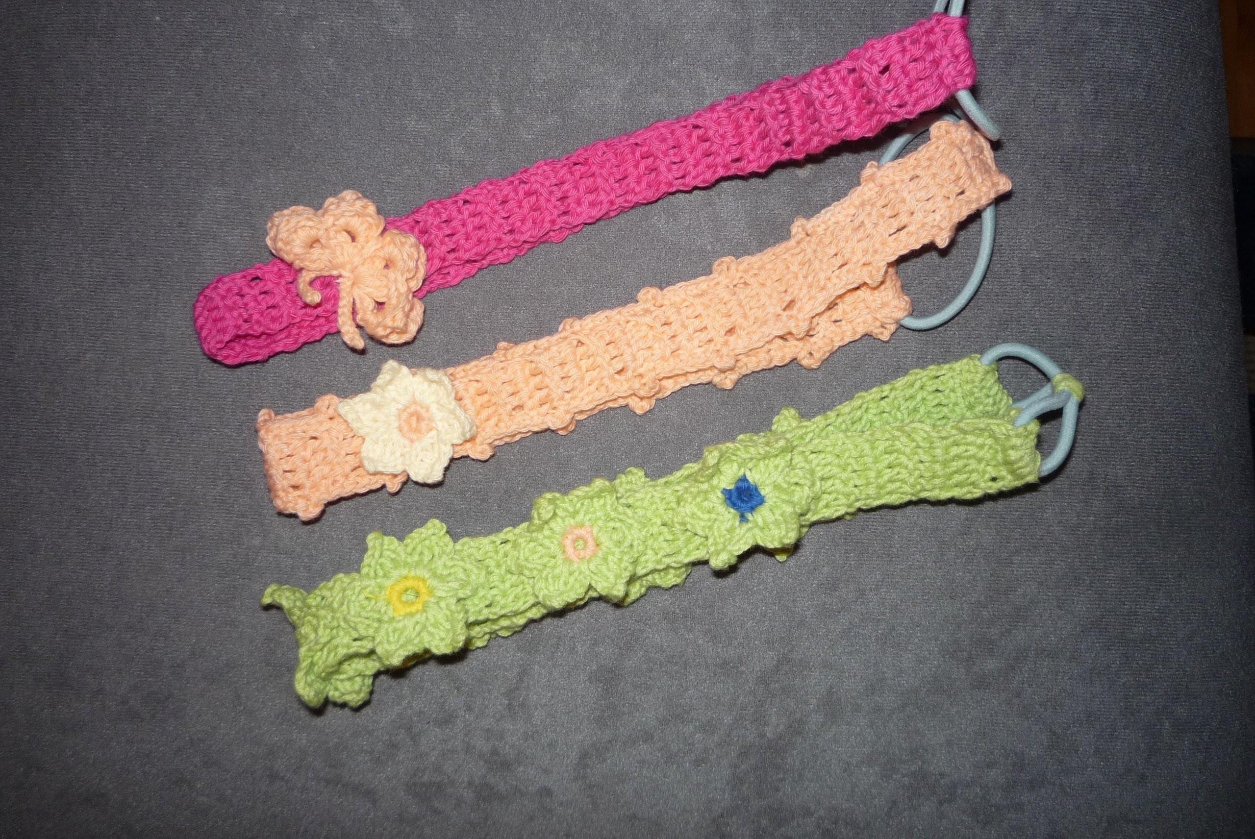 Crochet, Vincha Fácil (Banda de Cabello)